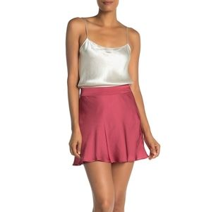 ISO Free People Phoebe skirt in Wine (red) size 8